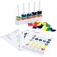 Cahier polypro 24X32 cm 140 pages piqure seyès incolore