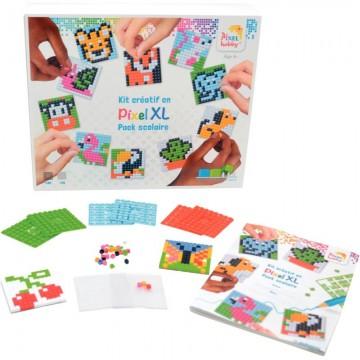 Cahier polypro 24X32 cm 192 pages piqure seyès incolore