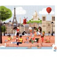 Carnet Bukhara Adina rose Midi 13x18cm ligné Paperblanks