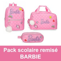 Pack scolaire remisé Barbie Joumma Bags