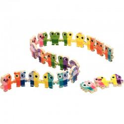 Pack scolaire remisé cartable et trousse Miniséri bleu