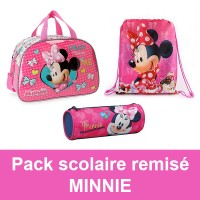 Pack scolaire remisé Minnie Disney