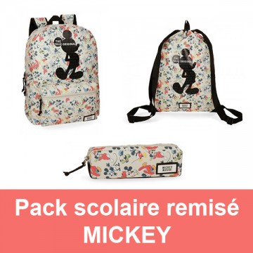 Pack scolaire remisé Mickey True Original Disney