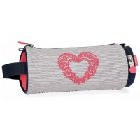Trousse ronde 1 compartiment 23cm Enso Heart