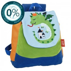 Sac à dos maternelle garçon 27cm Sleepy Dragon Bodypack