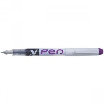Stylo plume jetable V Pen violet PILOT