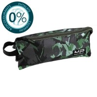 Trousse 3 compartiments camouflage vert avec Art Toy Bodypack