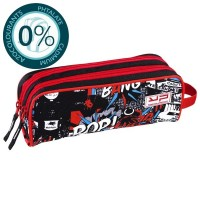 Trousse 2 compartiments Pop avec Art Toy Bodypack