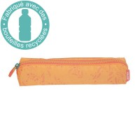 Milan mini trousse carrée 1 compartiment 20cm Cuddles orange 081129CDF