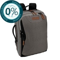 Sac à dos ordinateur USB 2 compartiments 51cm gris Bodypack 5290