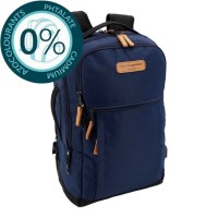 Sac à dos ordinateur USB 2 compartiments 47cm bleu Bodypack 5420