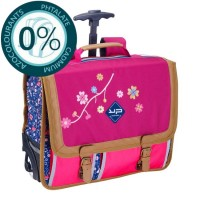 Cartable à roulettes primaire 2 compartiments 40cm Folk Bodypack 13401