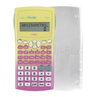 Calculatrice scientifique collège Sunset pink 240 fonctions M240 Milan