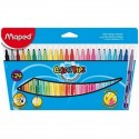 Etui de 24 feutres 1,2 mm Color'peps MAPED