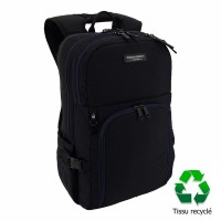 Sac à dos ordinateur USB 2 compartiments 45cm noir Bodypack 5330