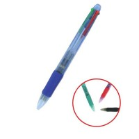 Stylo bille 4 couleurs 0.7 mm ULMANN