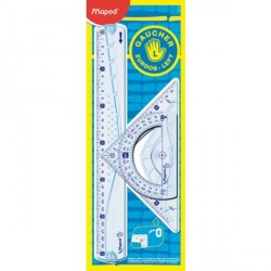 Kit de traçage gaucher 3 pièces Geometric Maped