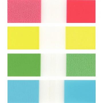 Classeur à levier A4 bleu clair dos 80 PVC 2 anneaux