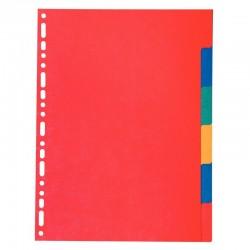 Classeur à levier A4 vert dos 80 PVC 2 anneaux