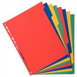 Classeur à levier A4 rouge dos 80 PVC 2 anneaux
