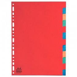 Classeur à levier A4 jaune dos 80 PVC 2 anneaux