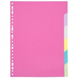 Chemise à élastique A4 vert 3 rabats carte