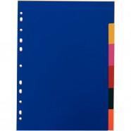 Chemise à élastique A4 orange 3 rabats carte