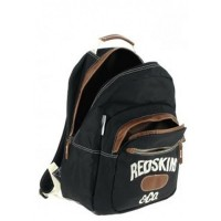 Sac à dos Redskins noir 1 compartiment 43 cm