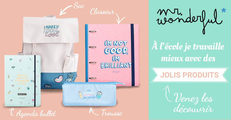 Produits Mr Wonderful